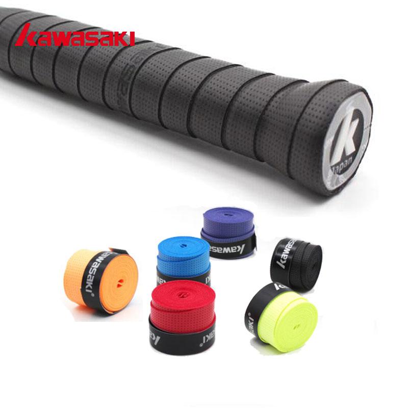 Kawasaki 5Pcs/lot X28 Anti-slip Breathable Badminton Overgrip Tennis Racket Grip Sweatband Mix Color