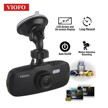 Viofo G1W-S Coche DVR HD 1080 P Condensador de alto rendimiento Novatek 96650 Coches IMX323 Dash Cam Cámara de grabación de Vídeo