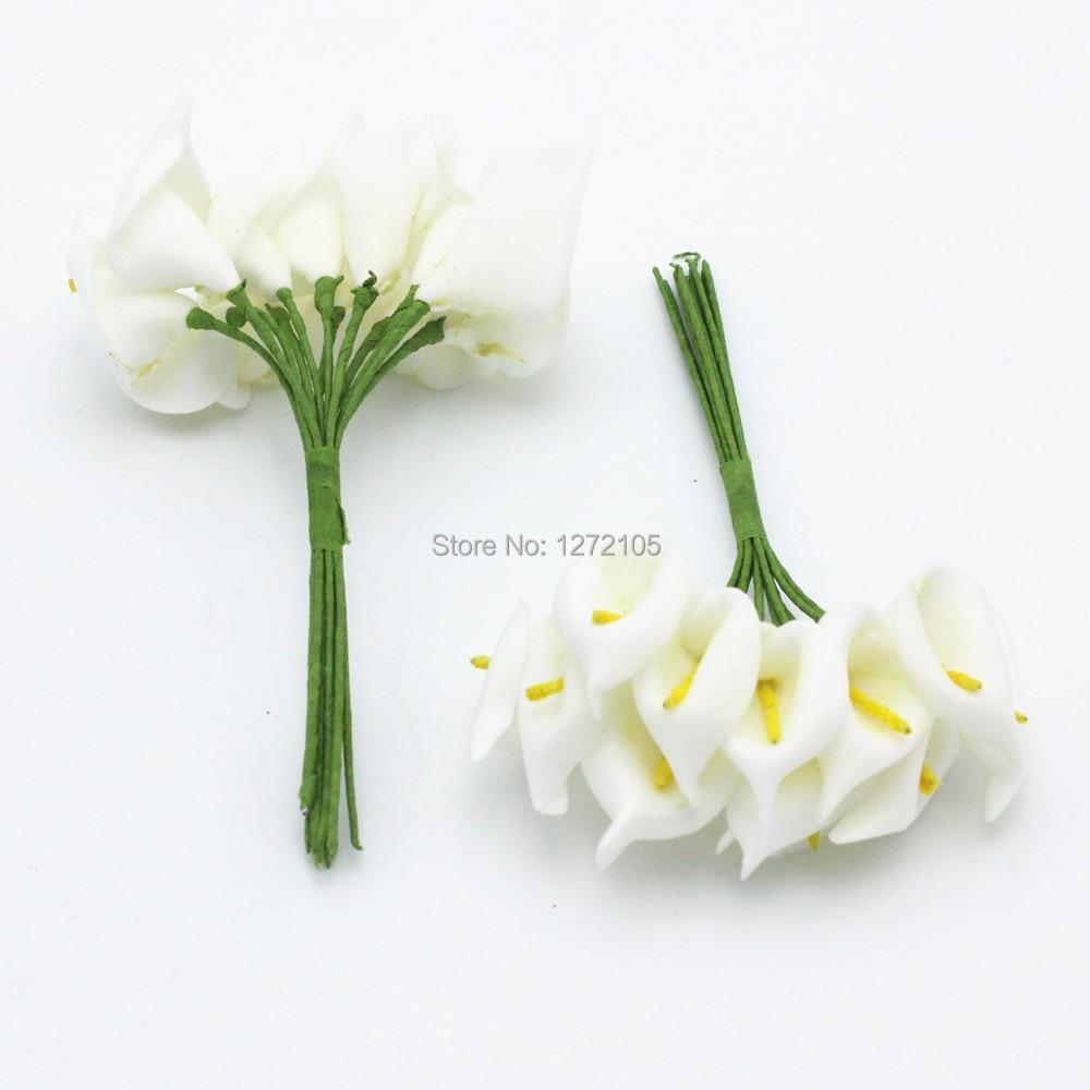 Calla Lily 144pcs Lot Wedding Decorations Flowers Home Decor 1 5 2