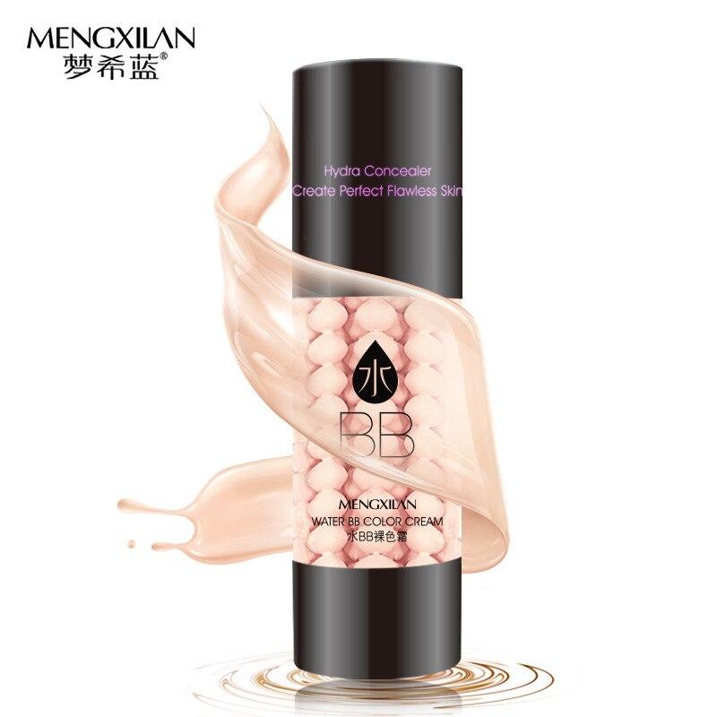 MENGXILAN Hyaluronic Acid BB Cream Face Skin Care Concealer Beauty Essentials Contour Palette Base SPF25 PA++ Foundation Makeup