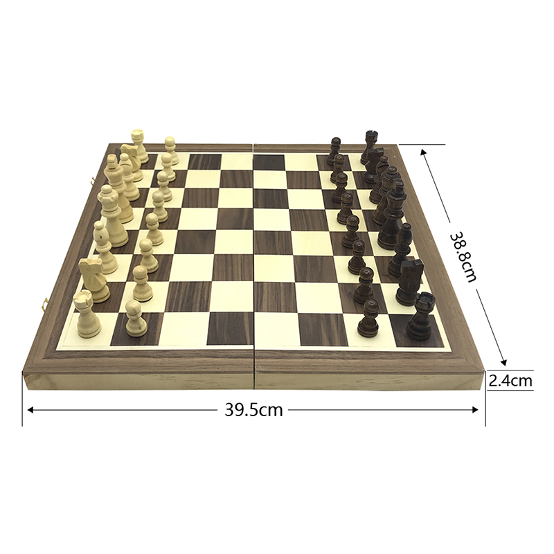 Yernea Magnetic Chess High-quality Wooden Chess Set Solid Wood Chessboard Magnetic Pieces New Entertainment Chess Games 2