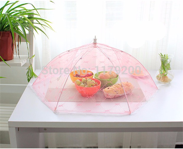 Food-Covers-Umbrella-Style-Anti-Fly-Mosquito-Kitchen-cooking-Tools-meal-cover-Hexagon-gauze-table-mesh (3)