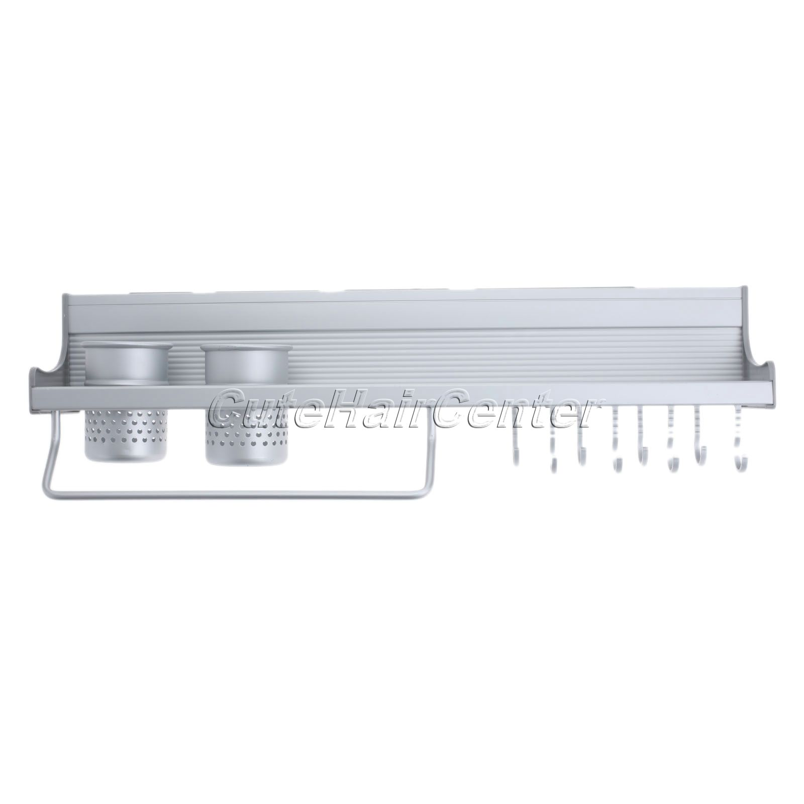 Free Shipping Aluminium Kitchen Storage Shelf Rack Spice Tool Holder ...