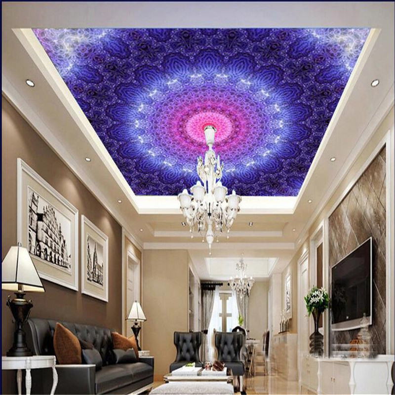 mural deluxe ceiling upper hall space living
