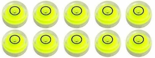 سطح حباب چند منظوره 15 * 8 میلی متر سطح روح سطح سطح Leveler Vial مدور حباب ، 4 عکس
