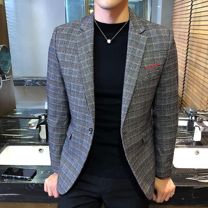 Enjeolon brand thicken winter down jacket men light down coat for men solid parka coat 3XL