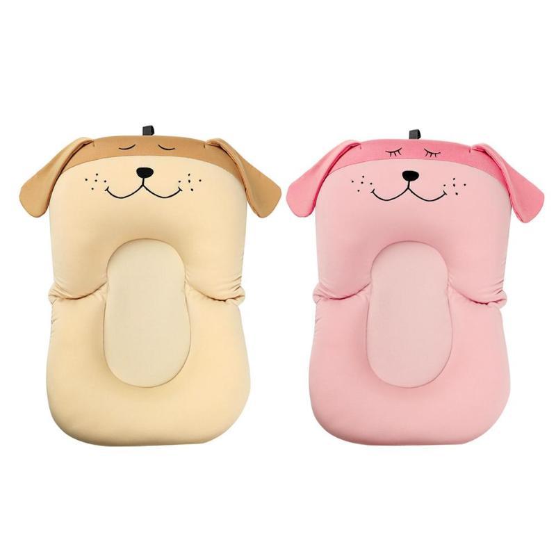 Baby Soft Bath Mat Cartoon Dog Shower Portable Air Cushion Non Slip Bathtub Mat Kids Bathtub