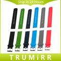 18 мм 20 мм 22 мм Силиконовой Резины Ремешок Для Часов Quick Release Pin Смотреть Полоса Смолы Ремень Универсальный Браслет Черный Синий серый Зеленый Красный