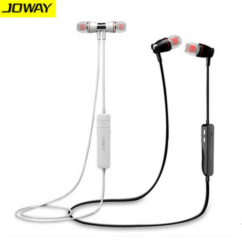 Joway H08 Bluetooth Headset Wireless 4.0 Sports Earphone Stereo Music Earphones With Microphone for iPhone Samsung Huawei Xiaomi lavalier clip on bluetooth headset eaerphones headphones stereo music sports hands free microphone earphone for samsung huawei