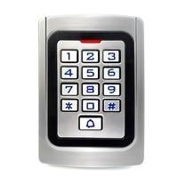 IP68 Waterproof Access Control Metal Case Silicon Keypad Security Entry Door Reader RFID 125Khz EM Card