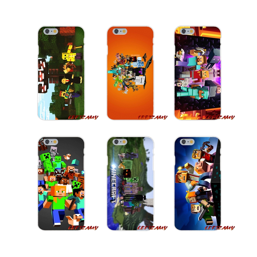 fashion game Group of Minecraft For Samsung Galaxy A3 A5 A7 J1 J2 J3 J5 J7 2015 2016 2017 Accessories Phone Cases Covers image
