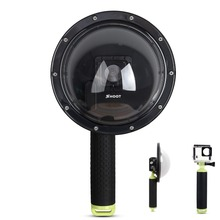 SHOOT 6 inch Diving Underwater Waterproof Camera Lens Dome Port Housing for Gopro Hero 3+/4 Photography