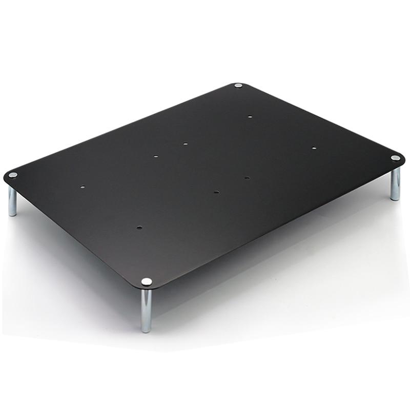 Titane plaque d'acier reçoit le soutien, la multicouche conception, la colonne en acier massif est convient pour ordinateur portable/routeur