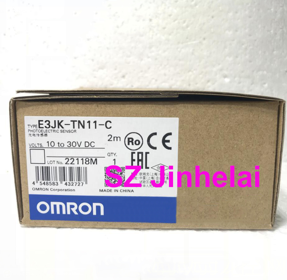 OMRON E3JK-TN11-C Authentic original Photoelectric switch 10-30VDC  2MOMRON E3JK-TN11-C Authentic original Photoelectric switch 10-30VDC  2M