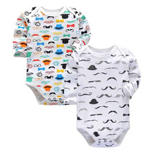 2 pcs/set Tender Babies Baby tights cotton unisex infant work clothes fashion baby boy girl long sleeve clothessuit