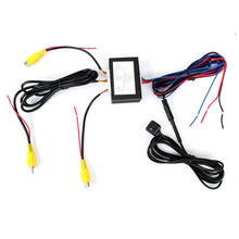 Intelligent Control Box Two Channels Available for Car Camera Video Automatic Switch Connecting Front Side Rear Cameras