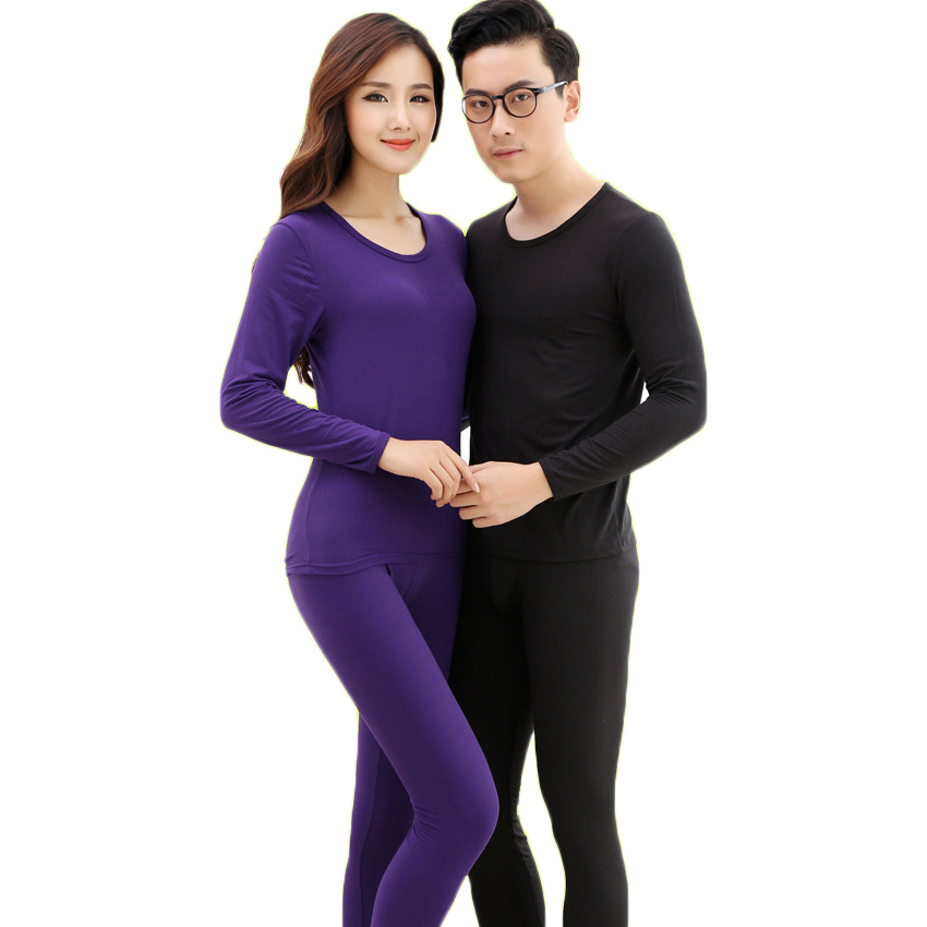 Free Shipping Long Johns Thermal Underwear Men Women -8640