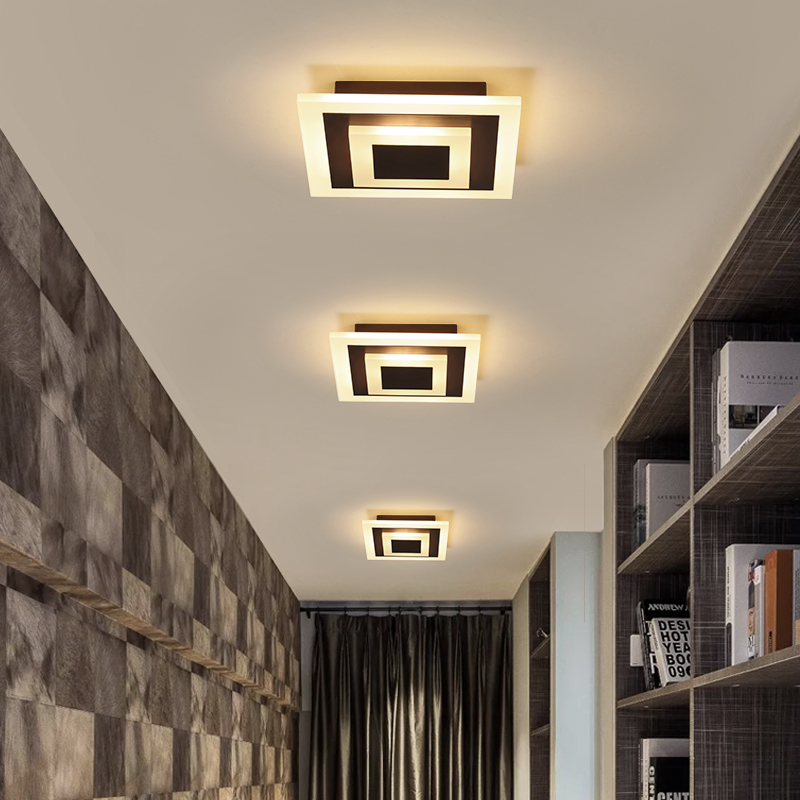 US $37.0 26% OFF|Minimalist Modern chandeliers ceiling for Living bedroom  aisle balcony kitchen lights luminaria led chandelier lighting fixtures-in  ...