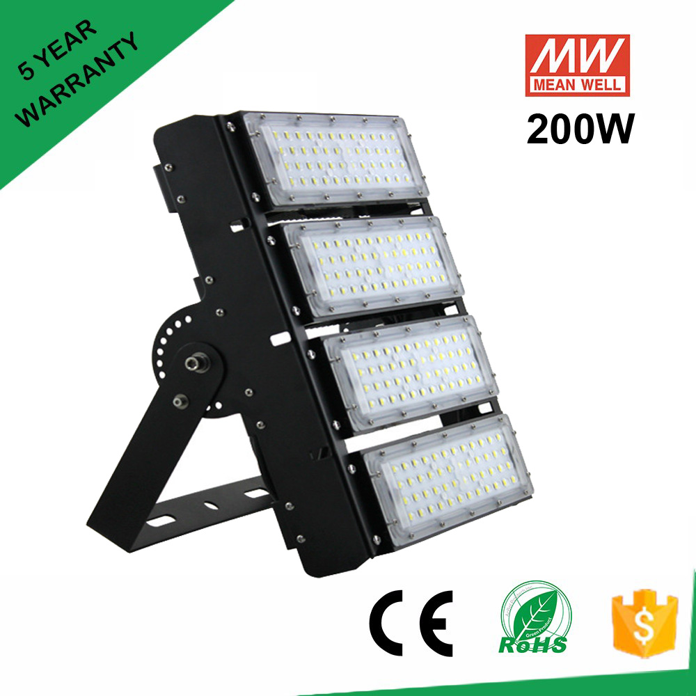 LED light for parking lot 200W IP65 waterproof outdoor led parking lot lighting DHL Fedex free shipping 200 watts