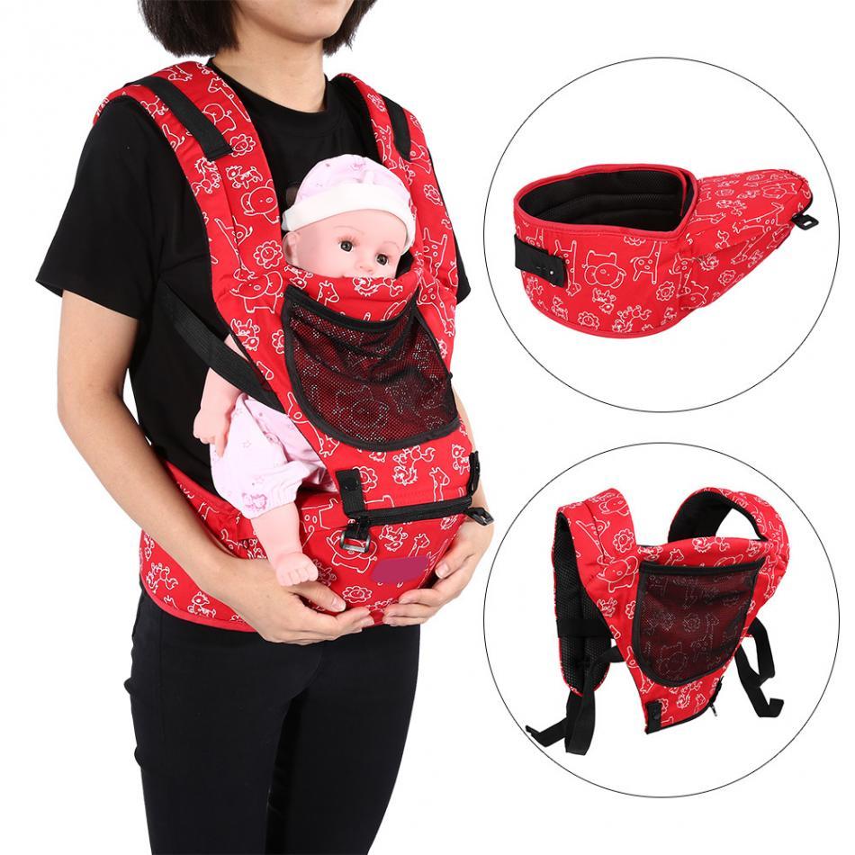 Ergonomic Adjustable Baby Carrier Hip Seat Adjustable Breatheable Infant Newborn Front Carrier Wrap Sling BackpackToddler Holder