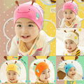 Cute Cotton Bee Hat Baby Girls Boys Toddler Knitted Soft Stripes Beanie Hat Cap Wholesale Free Shipping X5