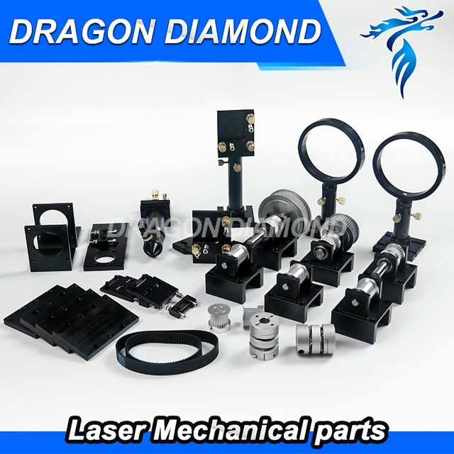 CO2 Laser Metal Parts Transmission Laser head Mechanical Components for DIY CO2 Laser Engraving Cutting Machine