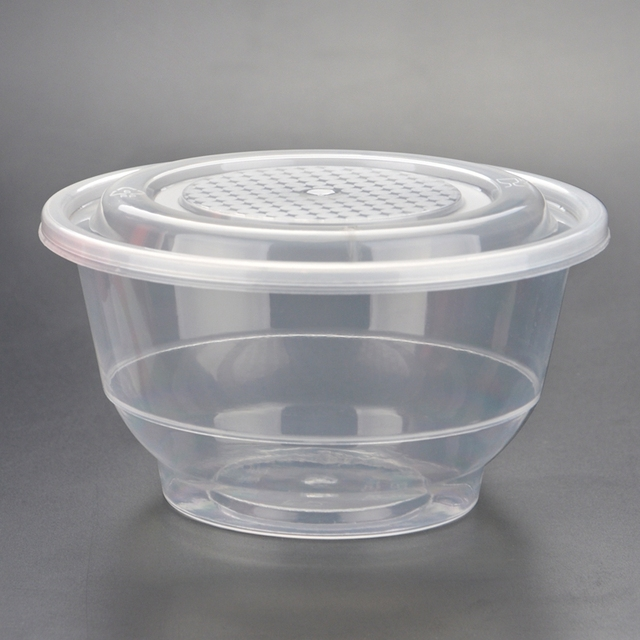 Home Hotel Take Away Disposable Plastic Bowl With Lid-in ...