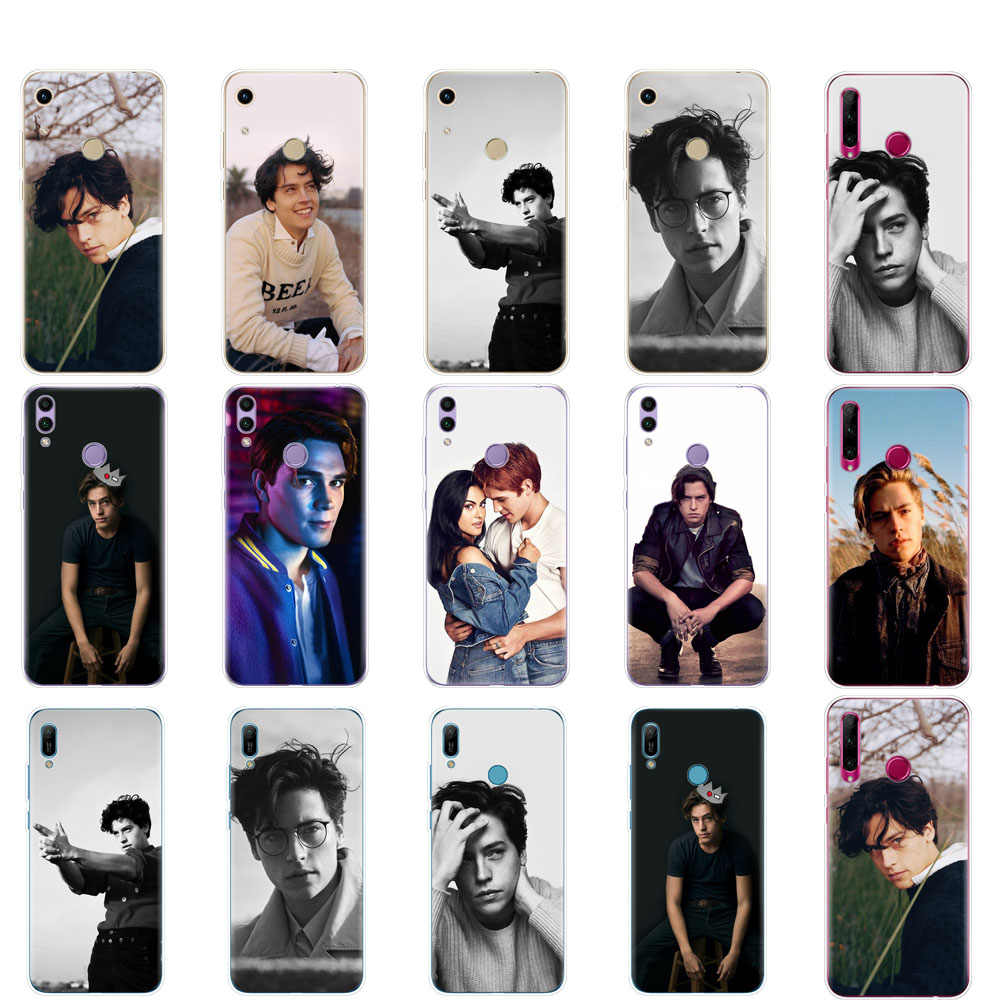 Case For Huawei Honor 8A PRO 8C 8X 10 i play case back cover for huawei Y5 Y6 Y7 Y9 2019 pro Prime TV Riverdale Cole Sprouse