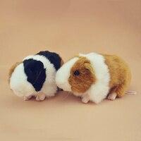 Động vật Mô Phỏng Đồ Chơi Guinea Lợn Plush Doll Thú Nhồi Bông Knuffels Đồ Chơi Nhỏ Pluche Mini Dieren Quà Tặng Cho Bé Cô Gái 60G0340