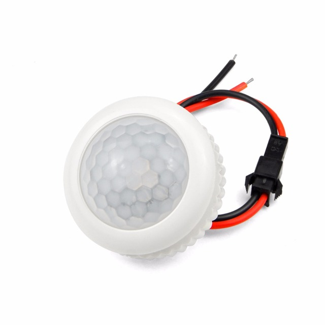 220V PIR Hareket Sensörü Anahtarı ON/OFF IR Kızılötesi Insan vücudu Indüksiyon sensörlü ışık Kontrol Dedektörü Modülü 50HZ