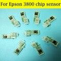 1 комплект чип-датчика для EPSON 3800 совместимый T5801-T5809 чипом T580 580