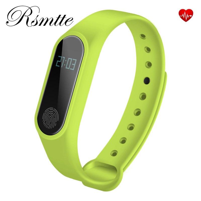 Smart Band Pulse Heart Rate Sleep Monitor Smart Bracelet IP67 Waterproof Fitness Tracker Smartband PK Mi band 2 ID115 M2