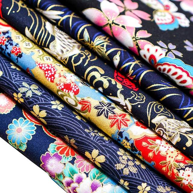 Cotton Fabric Japanese Style
