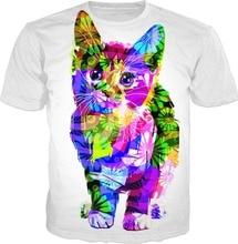 PLstar Cosmos 2018 New Fashion Drop Shipping Trippy Kitty Cuteness 3D Print Hoodies Women/Mens Casual Hooded Sweatshirt