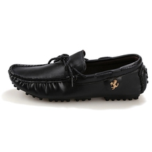 England Casual Shoes Men Moccasin Soft and Light Slip-on Flats Shoes Breathable Black Gommino Walking Drive Shoes H461 35