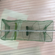 New paragraph 3/4 layer net Fishing Net foldable fishing shrimp lobster crab cage cast net Fishing tool fishing basket creel 3 layer multicolored nylon collapsible drawstring bottom nets cage for shrimp crab lobster outdoor fishing