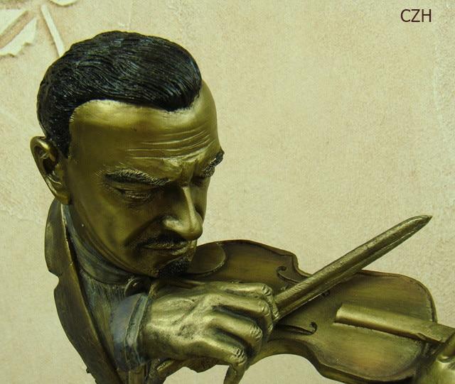 Musical Resin Statue