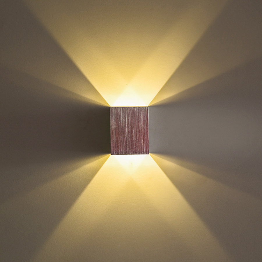 Up And Down Led Indoor Wall Lights : Modern 3W Up and down led Wall Light Led Spotlight Recessed in Ceiling indoor restroom bathroom ...