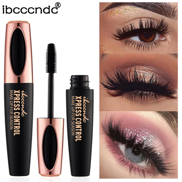 4d Silk Fiber Lash Mascara Volume Lengthening Black Mascara Long