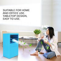Air Cooler Personal Use Air Conditioner Home Office Desk Cooler Cooling Bladeless Fan Air Conditioning Ventilador