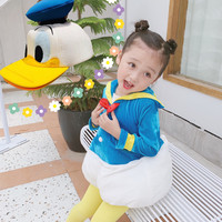 Donald Duck and Daisy Mascot Costume halloween mascot costumes for kids children Fancy Dress Performance Prop Outfit