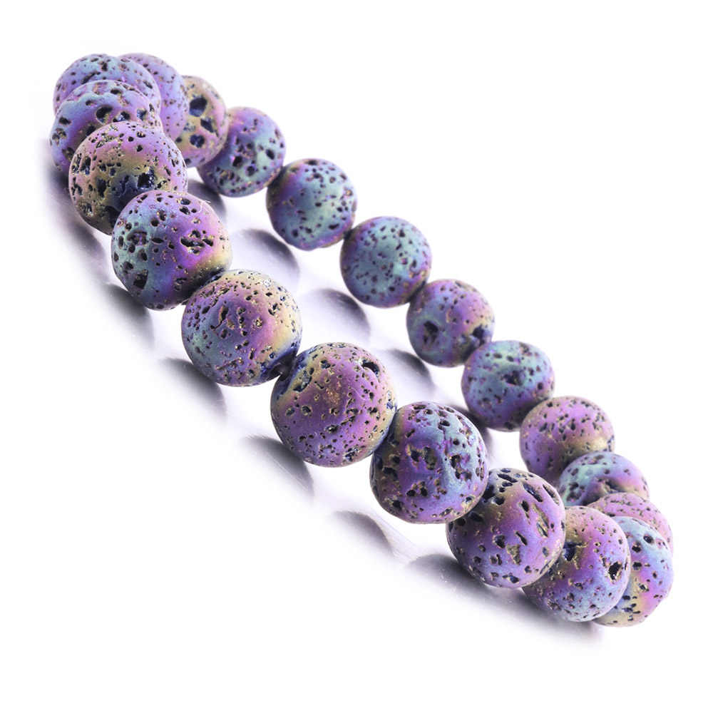 8/10MM Lava Stone Beads  Bracelet Diy  Aromatherapy Essential Oil Diffuser Man/Woman Bracelet