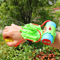2016 children summer beach water toys mini hand wrist nozzle type spray nozzle in hand