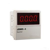 4 Digit Range 0 9999 Digital Electronic Counter AC 24V 220V 380V DC 24V High Accuracy Professional Panel Measuring Meter Counter