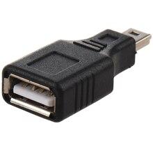 5 x USB A (female) – miniUSB (male) USBAB-M5AN (Black) 5pin black