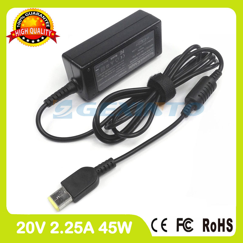 20V 2.25A 45W for Lenovo ac adapter charger ADLX45NLC3A 59370528 0C19881 0C19888 S210 S210T S215 universal power supply 20v 6 75a 135w original ac adapter charger laptop power supply for lenovo thinkpad t530 t520 w530 w520 w510 3pin 45n0059 45n0055