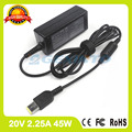 20V 2.25A 45W for Lenovo ac adapter charger ADLX45NLC3A 59370528 0C19881 0C19888 S210 S210T S215 universal power supply