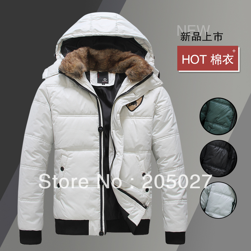 2013 winter new removable cap men down men's coats winter overcoat Outwear men winter jackets Free shipping no.105