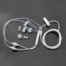 Anti Radiation Binaural Earphones Stereo Headphones with Microphone Universal 3.