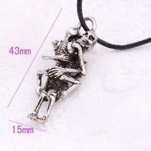 Men's Skull Pendant Chain Necklace